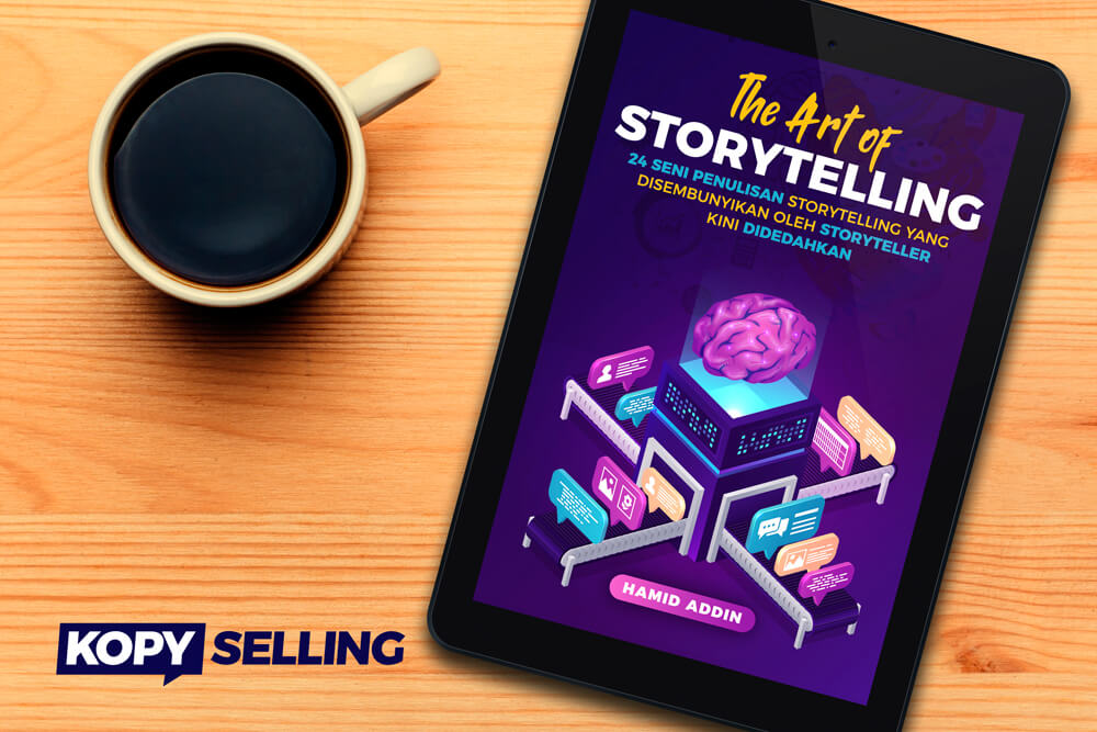 ebook cara tulis storytelling the art of storytelling hamid addin